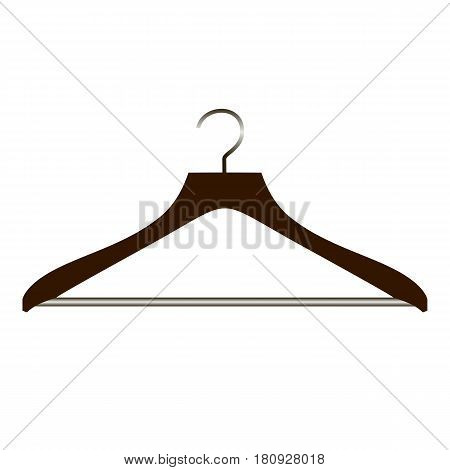 Realistic Hanger On White Background