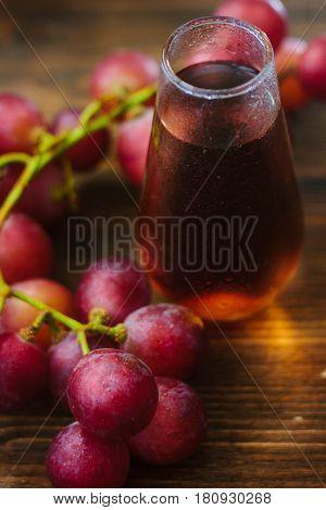 Grape Juice In Glass