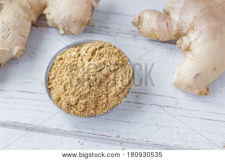 Grounded Ginger Root