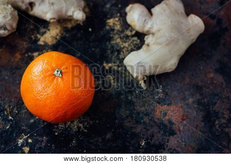 Orange And Ginger