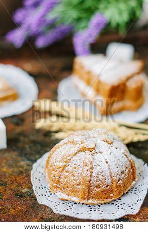 Small Vegetarian Cake