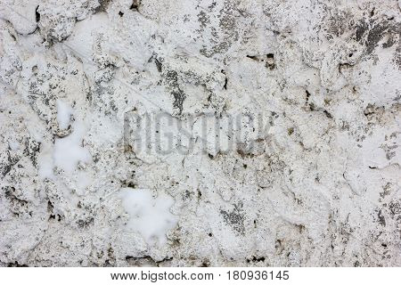 Grey Concrete Wall Background - Plaster Texture Pattern