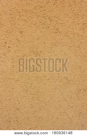 Yellow Or Orange Concrete Wall Texture As A Background.