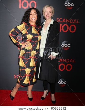 LOS ANGELES - APR 8:  Shonda Rhimes, Betsy Beers at the
