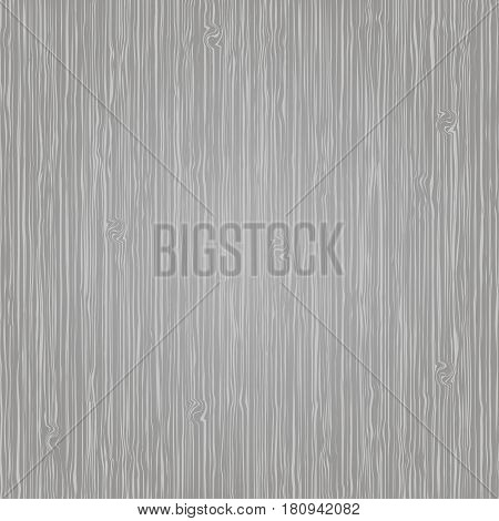 Gray wood texture background, vector wooden background