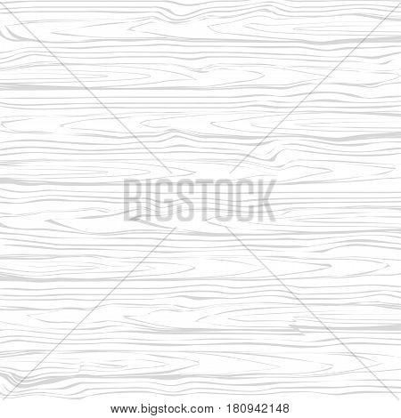 White wood texture background, vector wooden background