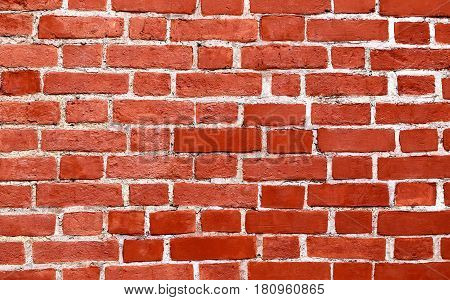 Photo background of the original beautiful old brick wall
