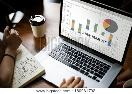 Assessment Bar Chart Pie Chart Statistics