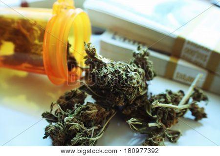 Alternative Medicine Marijuana  With Money High Quality
