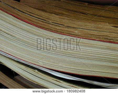 book paper stack  read  learn  write  page