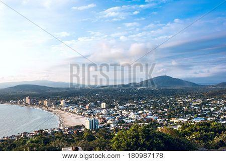 Piriapolis Town in the Uruguay Coast Maldonado province