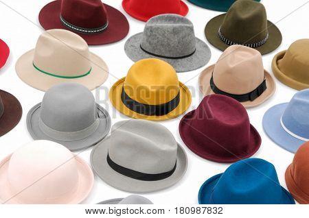 female pile of hat
