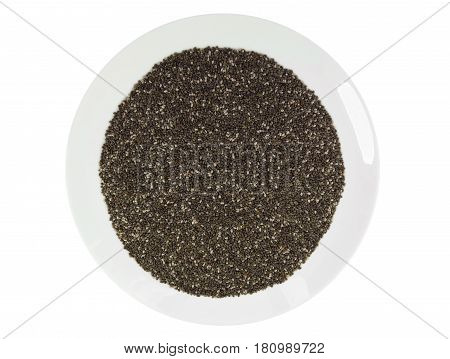 Chia Seeds In The Dish