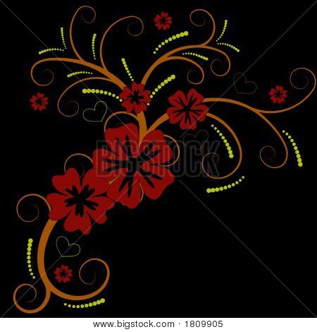 Beautiful Vector Flower Design