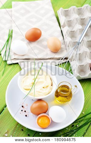 all you need to prepare mayonnaise - food and drink