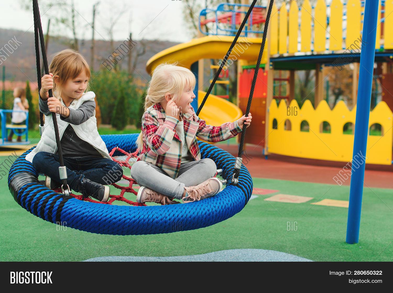 Happy Kids Having Fun Image Photo Free Trial Bigstock
