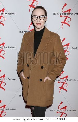 LOS ANGELES - JAN 17:  Camryn Grimes at the Young and the Restless Celebrates 30 Years at #1 at the CBS Television CIty on January 17, 2019 in Los Angeles, CA