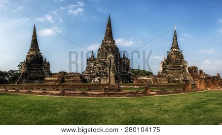 Wat Phra Si Sanphet Panorama