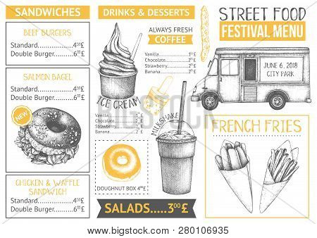 Food Festival Menu Design 1 1