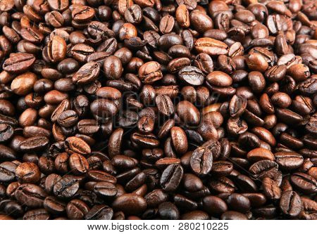 Full Frame Shot Of Coffee Beans Stock Photos