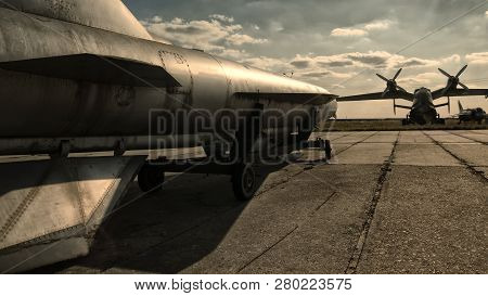 Nuclear Bomb On The Runway, Nuclear Bomb On The Runway, Military Base