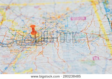 Washington On Map, Atlases And City Guides
