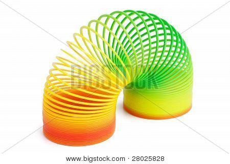 Plastic Spring Toy
