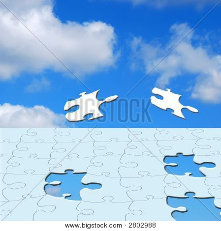 Jigsaw In Sky
