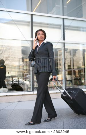 Business Travel Woman