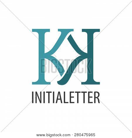 Initial Letter Kk Logo Concept Design. Symbol Graphic Template Element Vector
