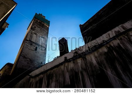 View of Medina in fes morocco, beautiful photo digital picture poster