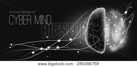 Ai Innovation, Cyber Tech, Human Brain Analysis. Big Data Visualization, Machine Learning, Artificia