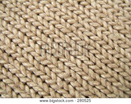 Brown Wool Background