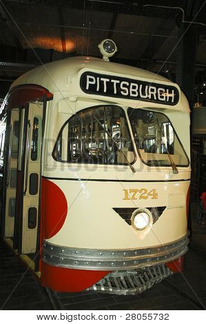 Pittsburgh tram car