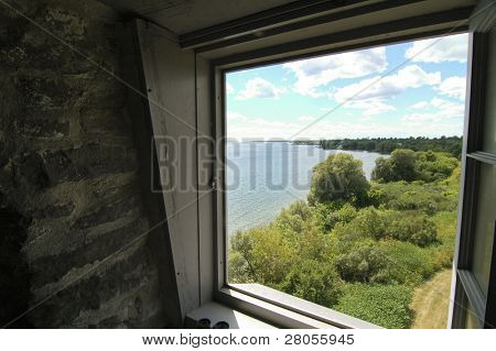 view from windmill