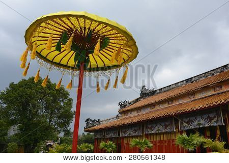 The To Mieu Temple In The Imperial City, Hue, Vietnam