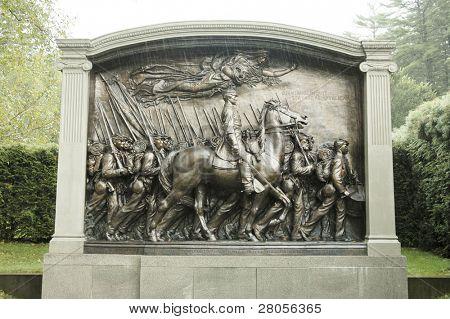 Augustus Saint-Gaudens National Historic Site statue