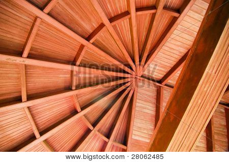 ceiling woodwork poster