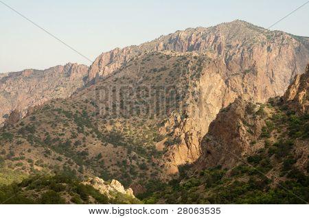 Chisos Mountain cliffs