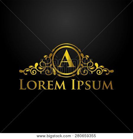 Luxury Logo, Letter A Logo, Classic And Elegant Logo Designs For Industry And Business, Interior Log
