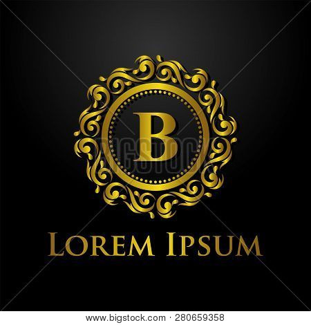 Luxury Logo, Letter B Logo, Classic And Elegant Logo Designs For Industry And Business, Interior Log