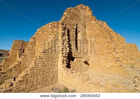 Kin Kletco native american indian wall ruins poster