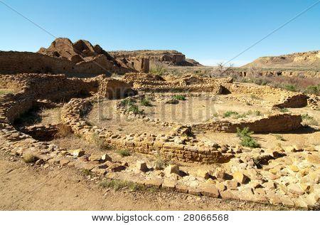 Pueblo Del Arroyo native american indian ruins