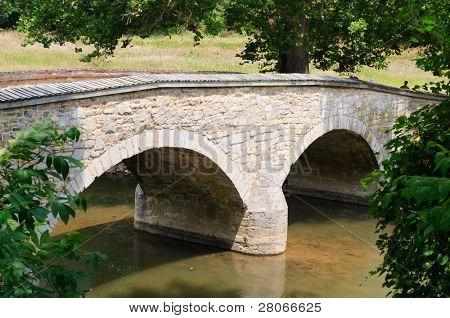 Burnside Bridge over Antietam Creek
