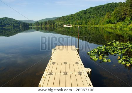 dock in Red House Lake