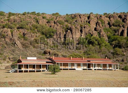 Fort Davis National Historic Site and the Davis Mountains poster