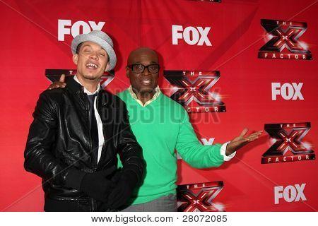 LOS ANGELES - DEC 19:  Chris Rene, L.A. Reid at the FOX's