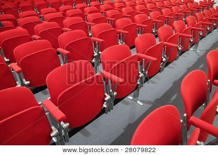 seats of modern business center