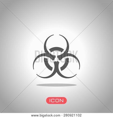 Bio Hazard Icon  Vector & Photo (Free Trial) | Bigstock