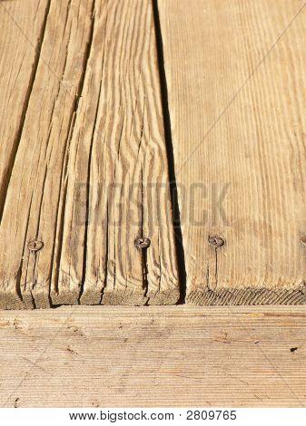 Brown Wood Deck